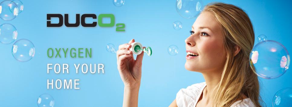 DUCO2 Zuurstof voor uw woning | Derissen Glashandel
